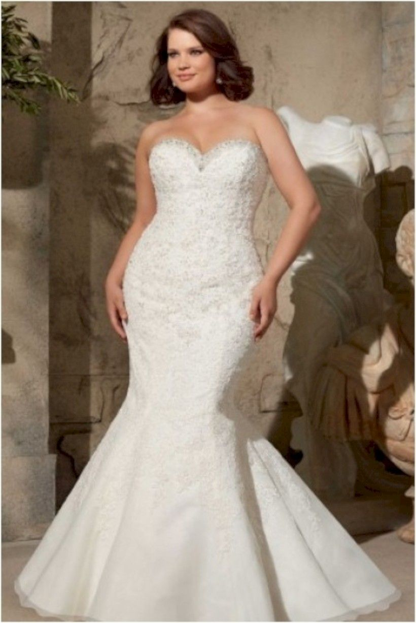 plus size mermaid wedding dresses inspiration for your gorgeous