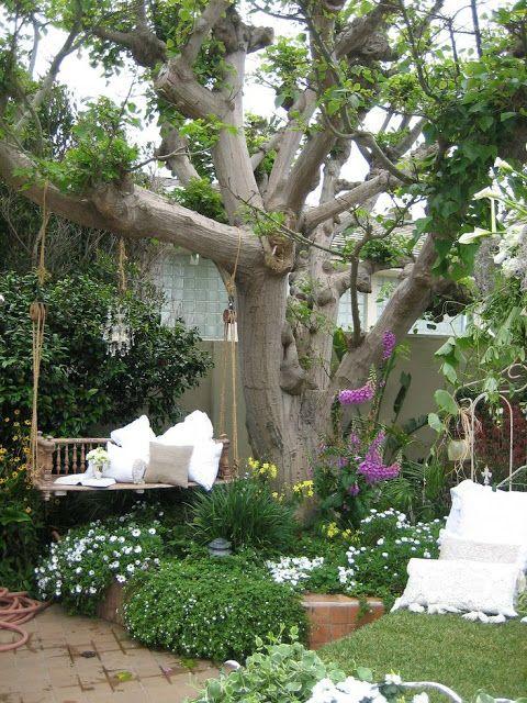 charming garden seating ideas native design | Simple Details: Charming Garden Ideas | Shady Gardens ...