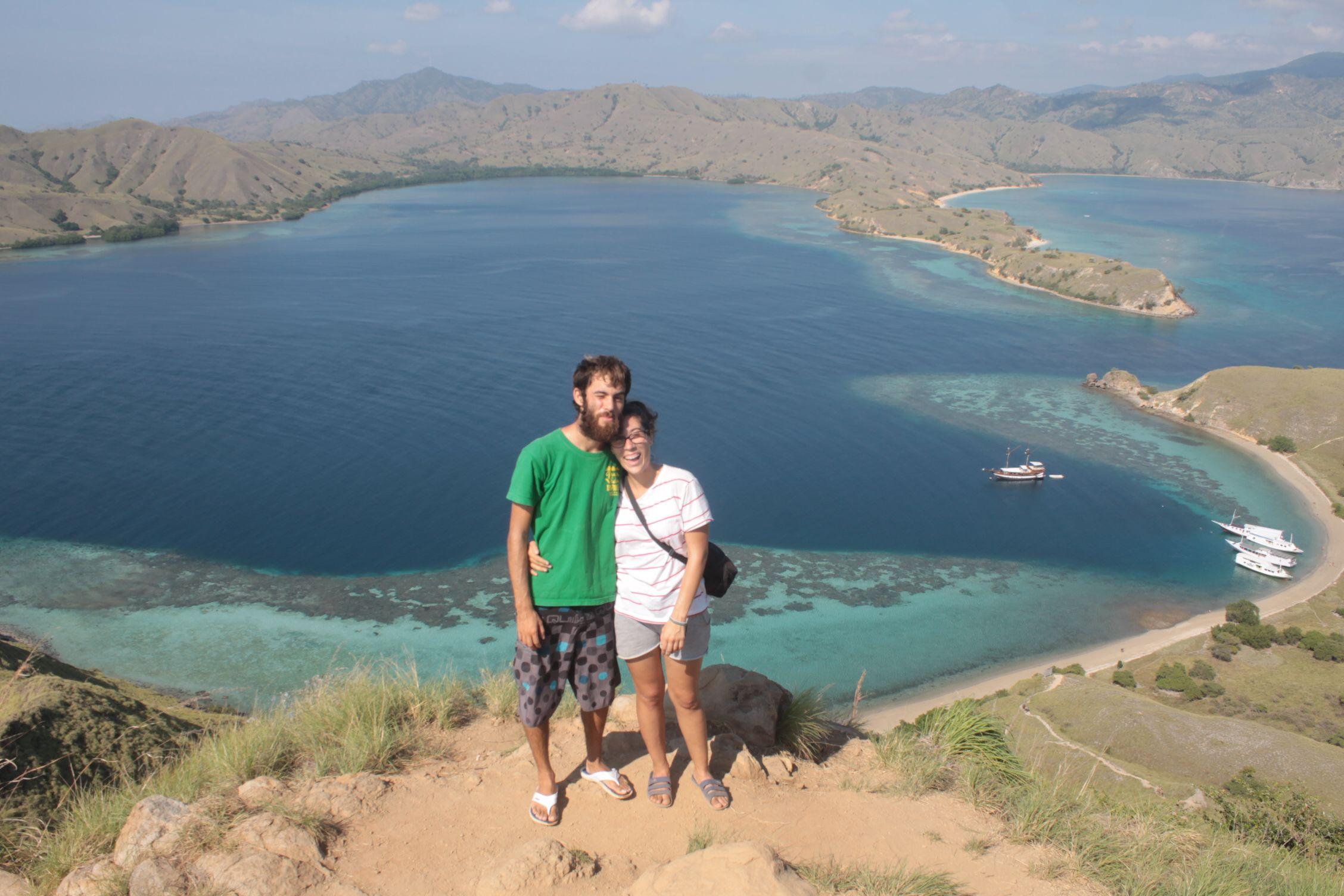 Vistas desde el viewpoint de Gili Laba