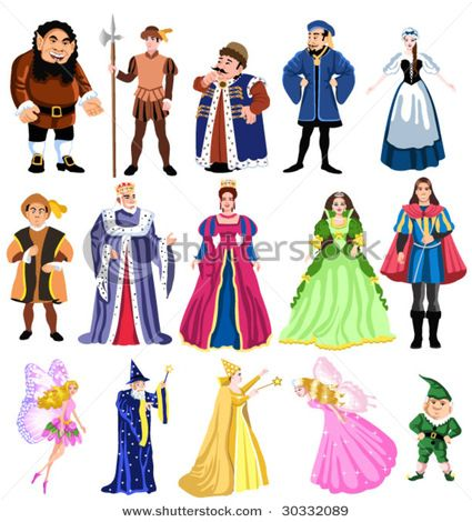 Become your favourite fairy tale character with our great