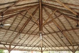 telhado em palha