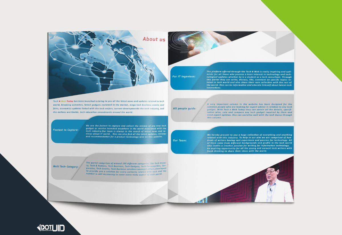 Tech N Web Company Best Brochure Design Http Dotuid Com Project Technweb Brochure Design Brochure Web Company