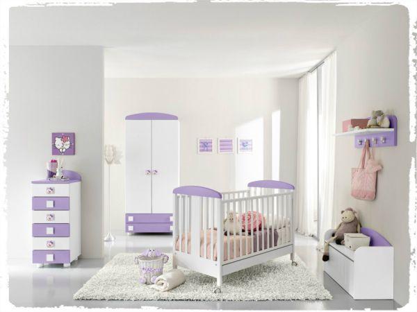 Settimino Cameretta ~ Cameretta linea baby con settimino armadio culla e panca