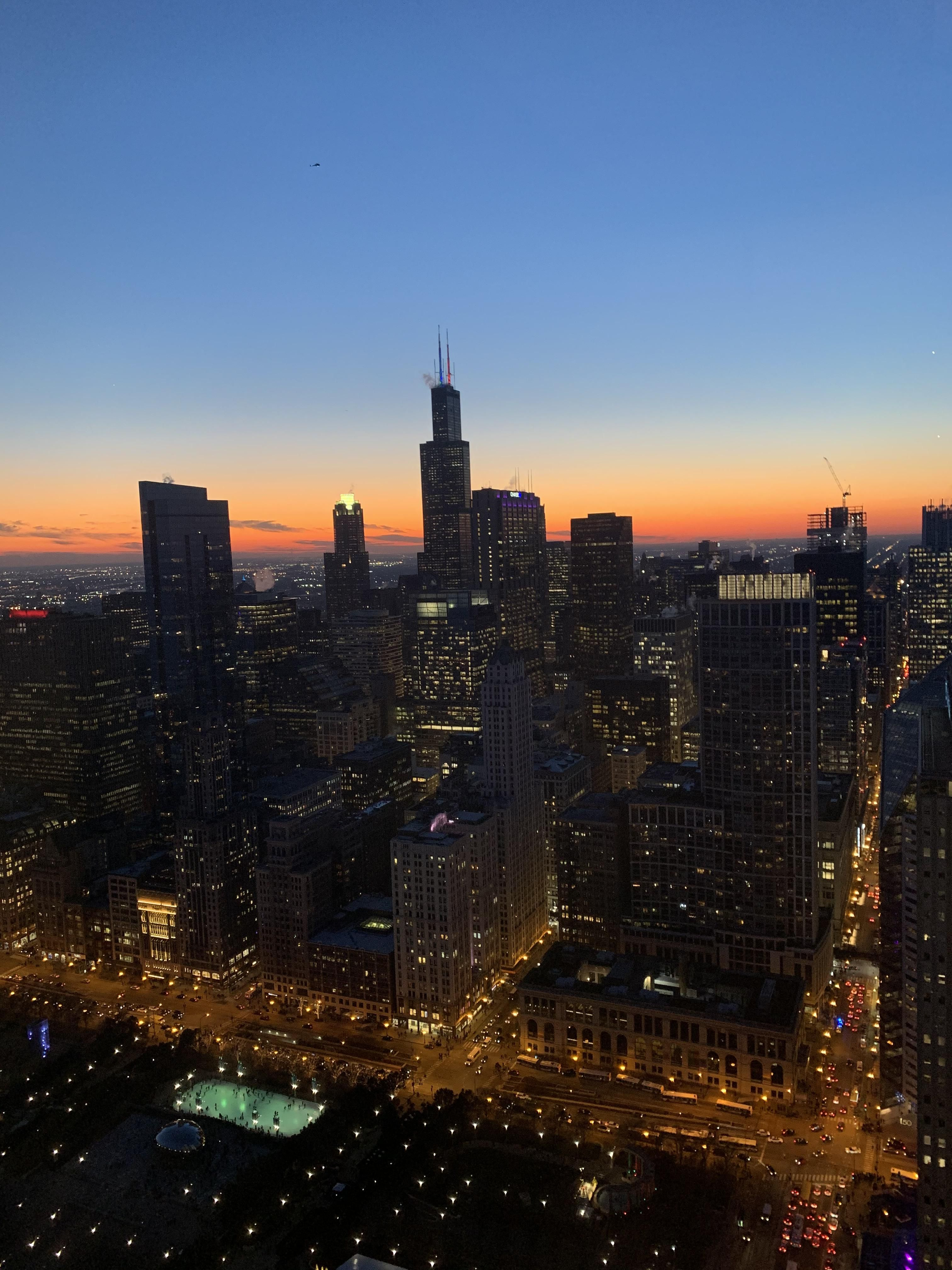Chicago 4 40 In The Evening City Cities Buildings Photography