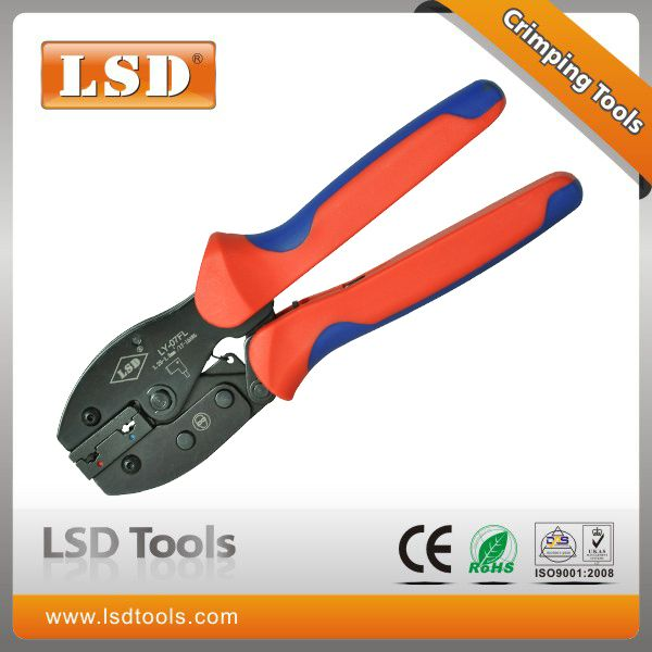 Ly 07fl Flag Terminals Crimping Tools For Flag Female Insulating Joint Hand Crimping Tools Carbon Steel Flat Crimping Pliers Crimping Tool Tools Crimping