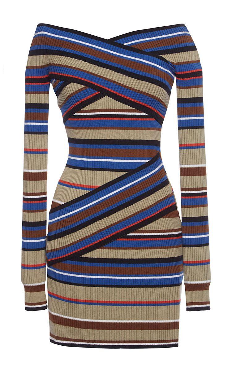 Blue Stripe Knit Dress Striped Knit Dress Blue Knit Dress Striped Knit [ 1200 x 750 Pixel ]