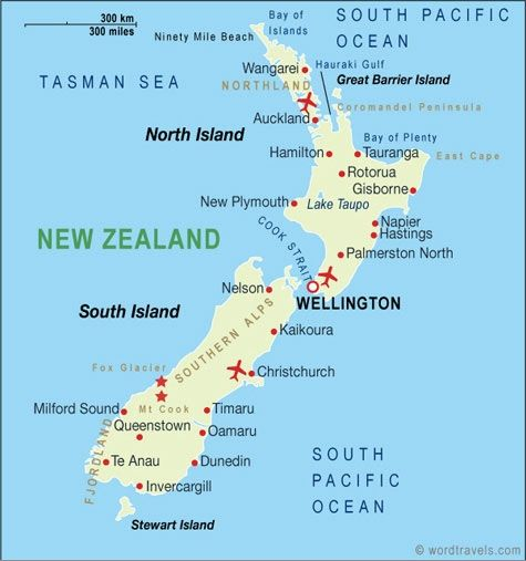 taupo new zealand map New Zealand Map Moving To New Zealand New Zealand Adventure