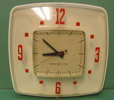Strange Vintage General Electric 60S Kitchen Clock Ebay My Back Home Interior And Landscaping Synyenasavecom