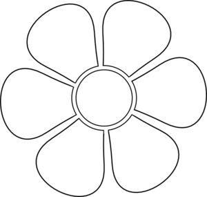 Daisy Flower Cip Art Silhouette Shared By Heather 12 29 2011 300 285 Mana Vietne Stensiller Aplike Desenleri Boyama Sayfalari