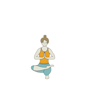 half lotus tip toe pose yoga ardha baddha padma