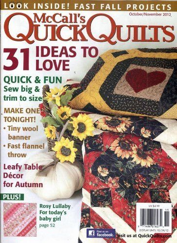 Quick Quilts (1-year auto-renewal) Magazine Subscription Creative ... : quick quilt magazine - Adamdwight.com