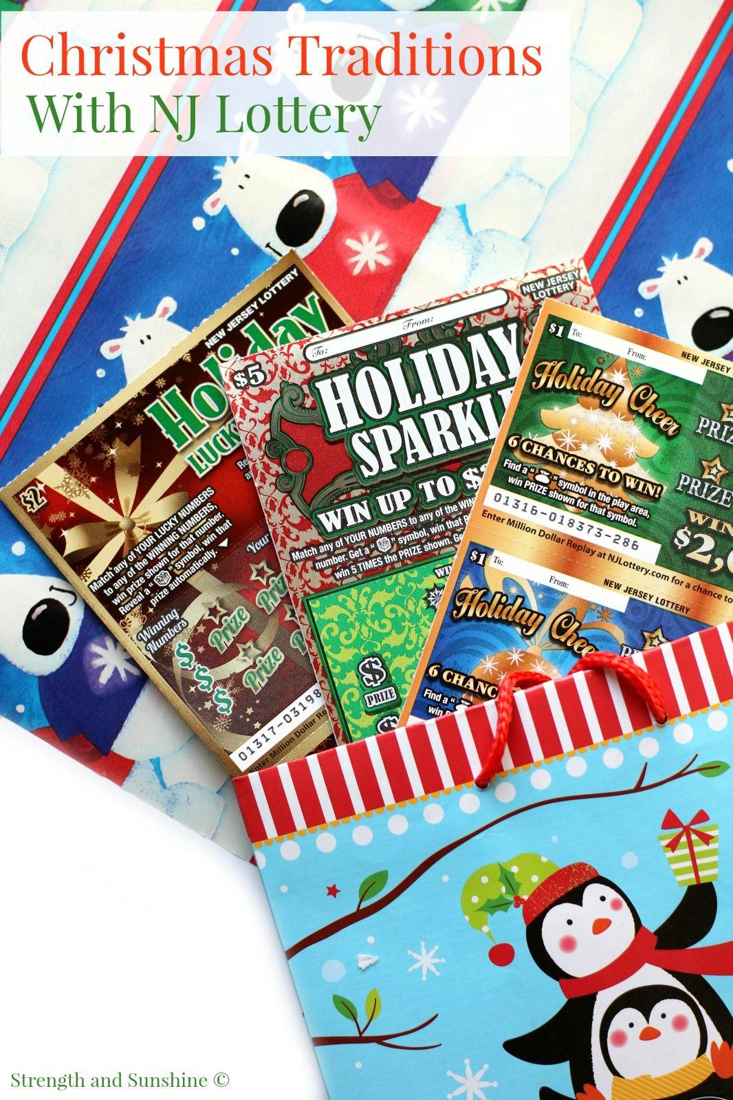 Christmas traditions with nj lottery christmas