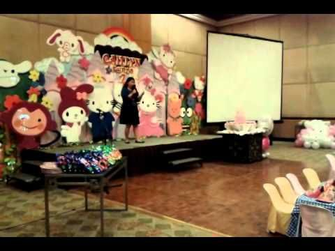 Kiddie Party Host - Kat Canita of Almost Heaven Events - YouTube