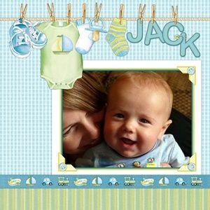 Jack...Baby Layout