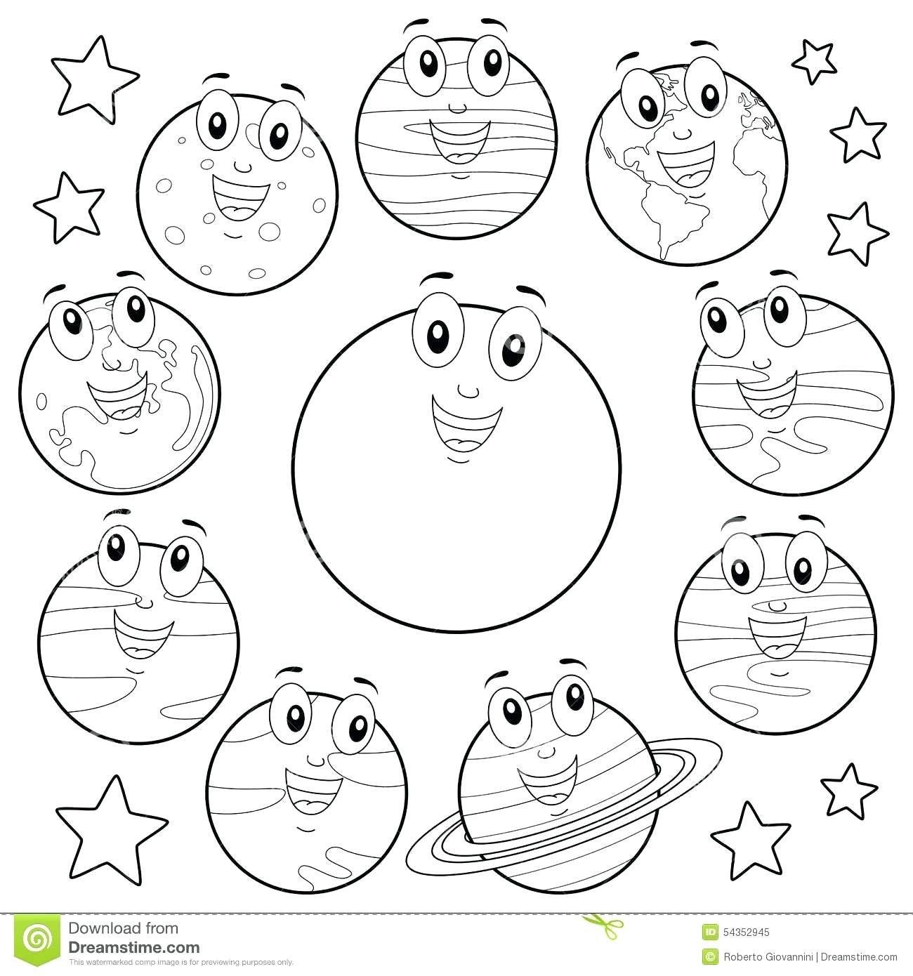 28 Best Of Solar System Coloring Pages In