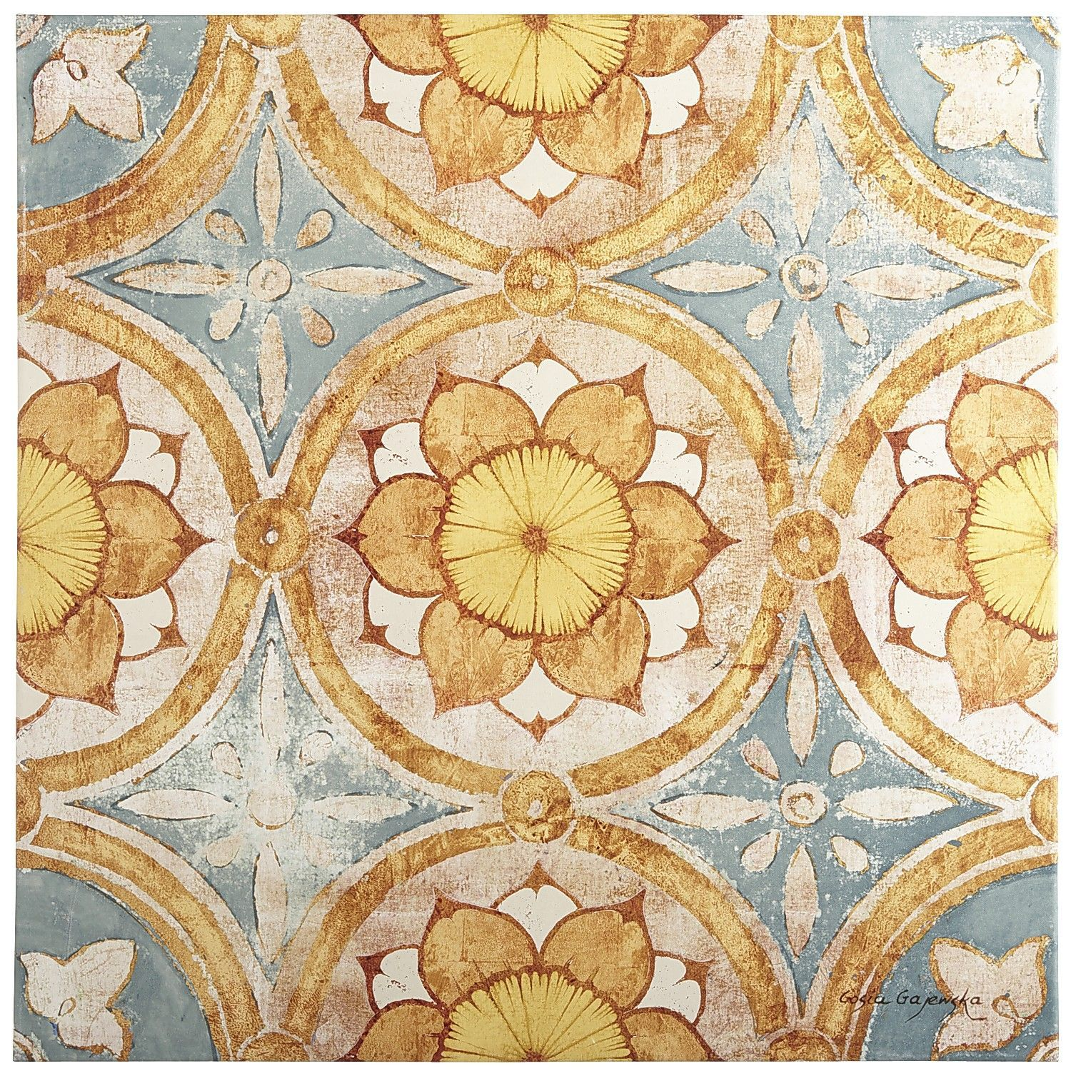 Spice Tile Art | Pier 1 Imports | Living Room Inspiration ...