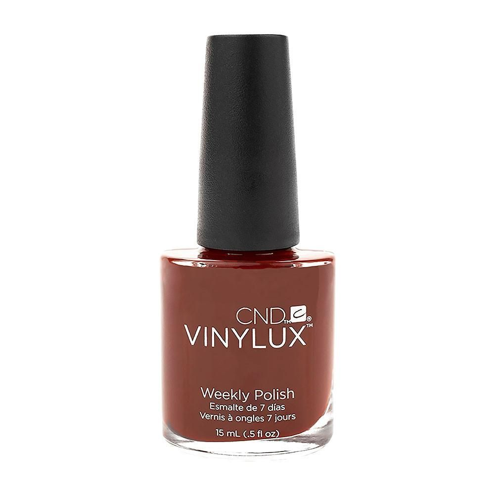 CND Vinylux Lacquer Nail Polish Oxblood Dark Red Maroon Professional ...