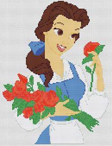 Belle Cross Stitch