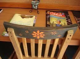 Resultado de imagem para reformando cadeira de madeira