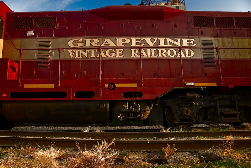 Train ride in Grapevine Texas on the to do list and stay at #dochollidayhouse