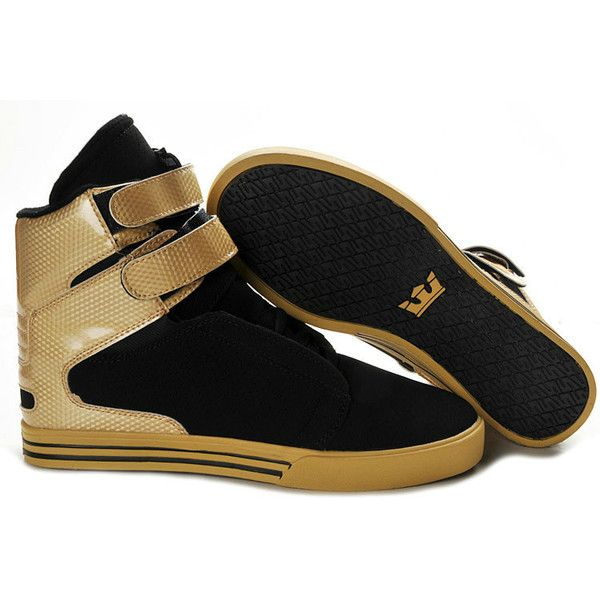 02f803bb24d3 2012 New Supra Shoes Black Gold