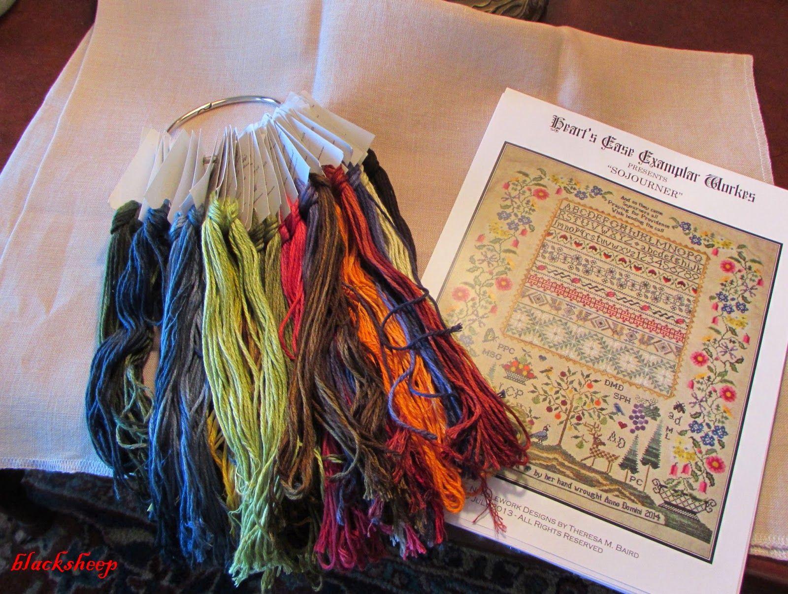 Blacksheep's bit of the Web: Some Stitchin' Stuff - Something Old, Some Shopping and Something New