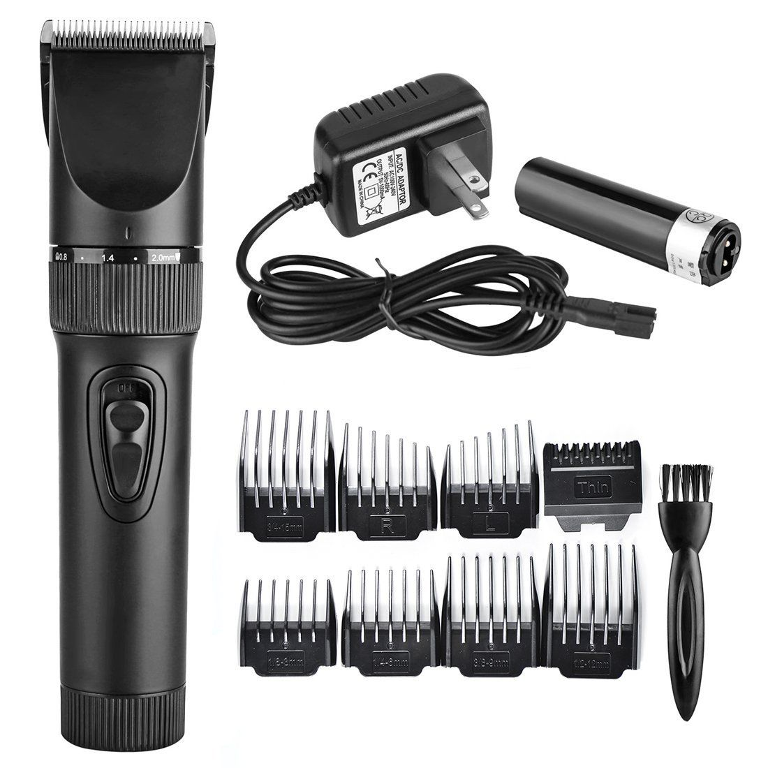 Eachway Quiet Professional Hair Clippers Cordless