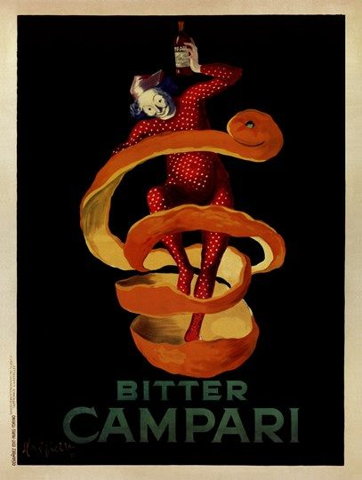 Bitter Campari Fine-Art Print by Leonetto Cappiello at UrbanLoftArt.com