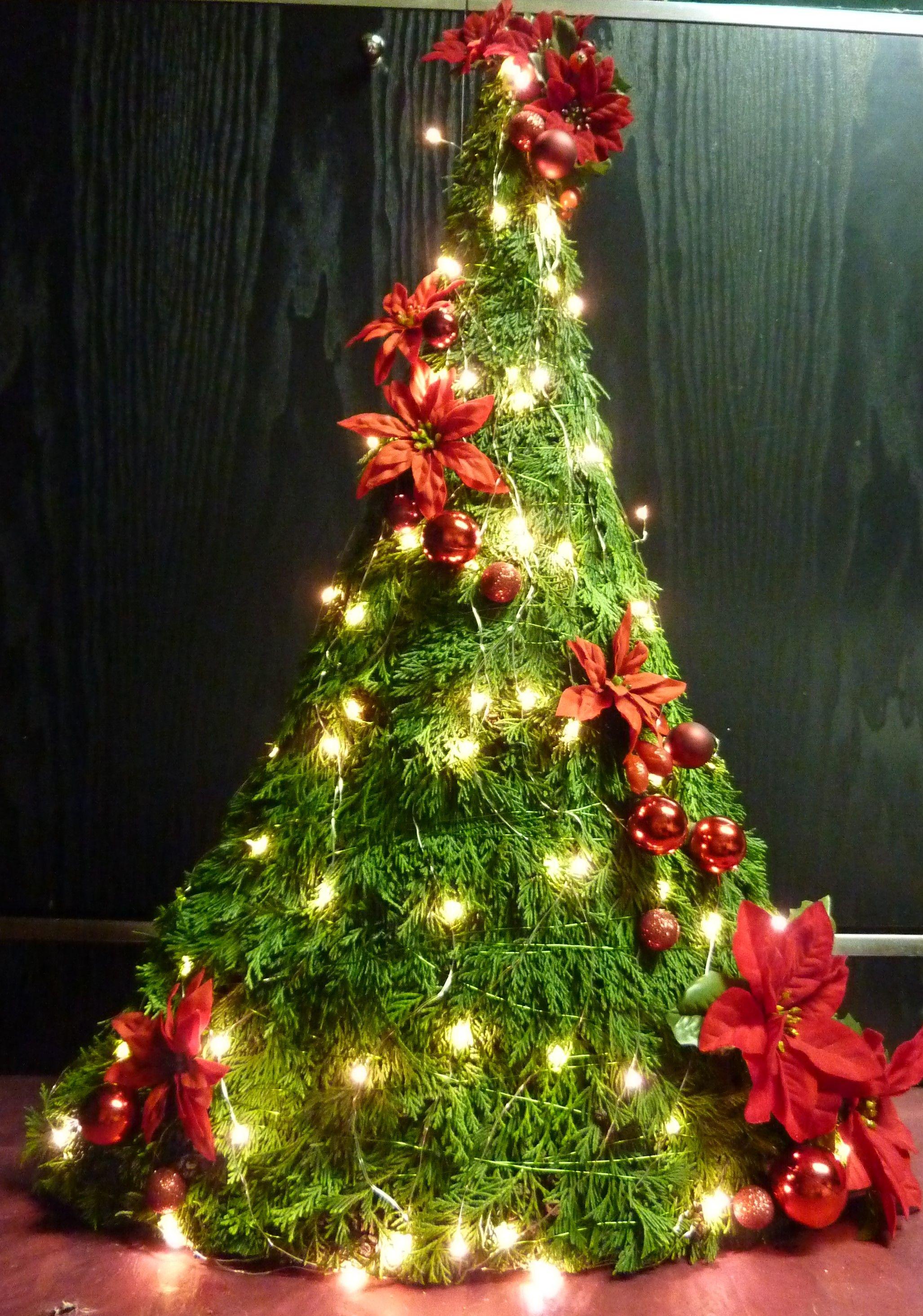 Leuke plat kerstboompje 70x50x15cm | ASTRIDs HOME AND GARDEN ...