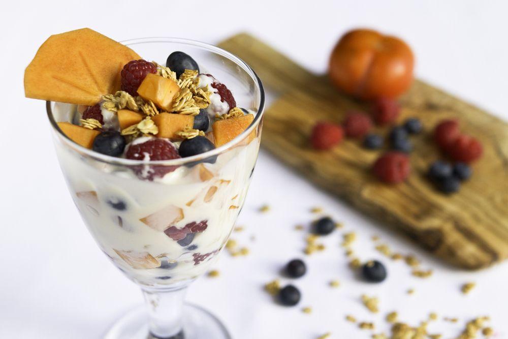 Fresh Fruits with Vanilla Cream Trifle The Ornish