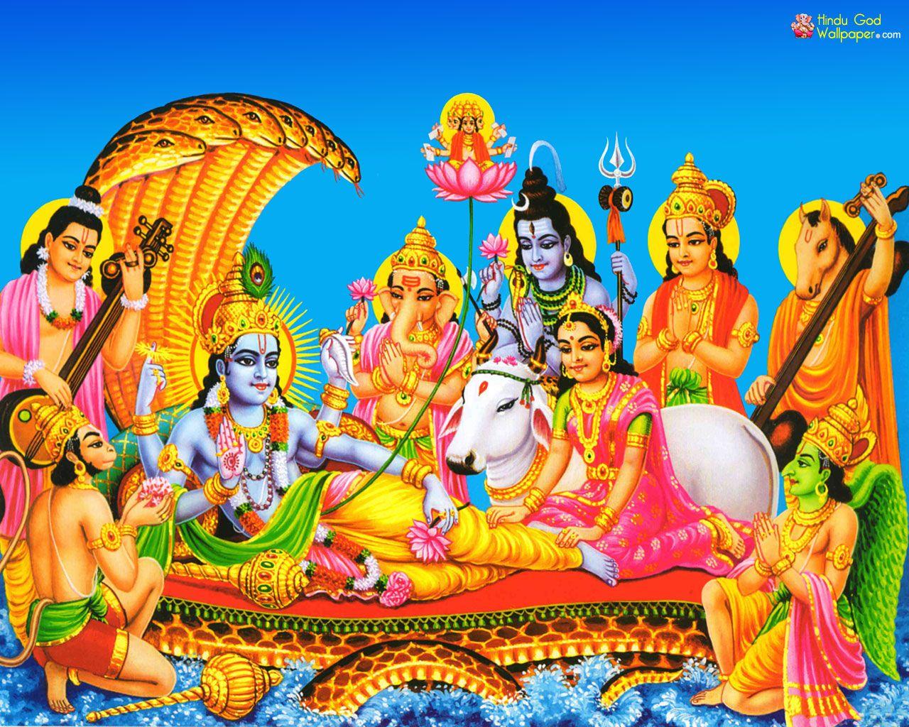 8300 Koleksi Hindu God Wallpaper Desktop Free Download HD