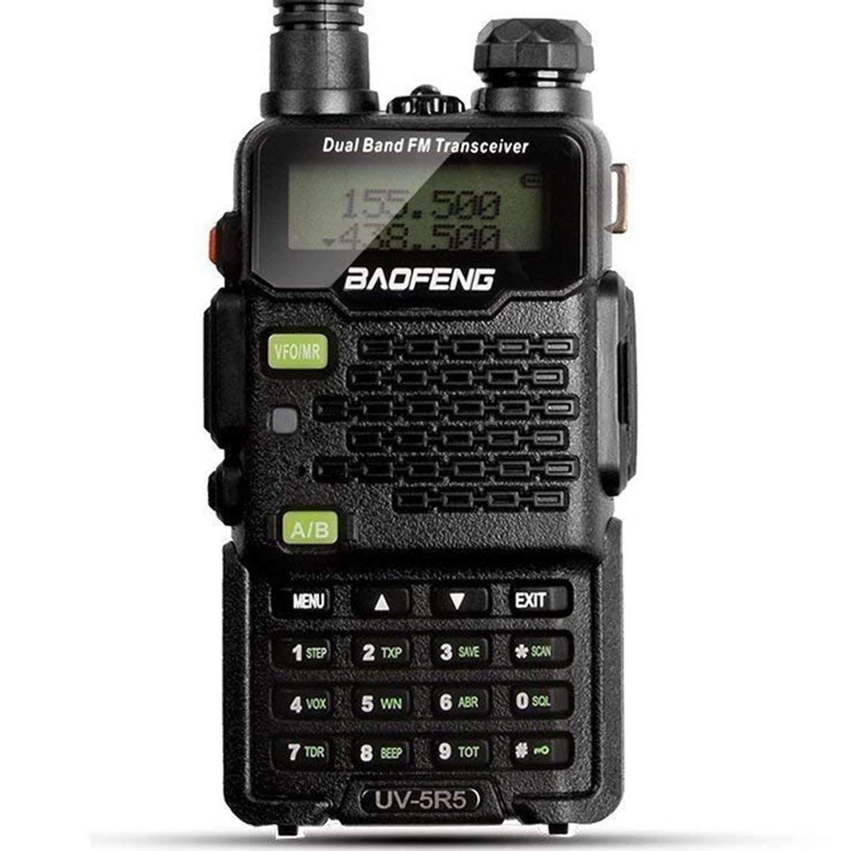 VHF UHF Dual-Band Walkie Talkie Including BaoFeng 2-Pack Upgrade ...