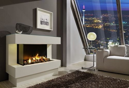 Electric fireplace insert   flame effect CONCEPT NR4 L Kamin - wohnzimmer kamin design