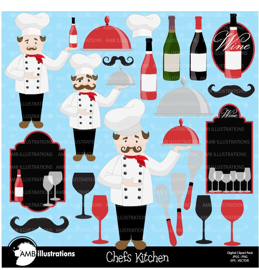 80 off chef clipart kitchen clipart wine clipart master chef clipart wine waiter vector images commercial use amb 914 [ 871 x 910 Pixel ]