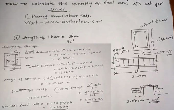 How to calculate the weight and quantity of steel bars in a