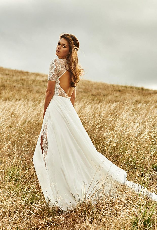 16 Beauty Lace Bohemian Wedding Dress Designs – Top Cheap Unique ...