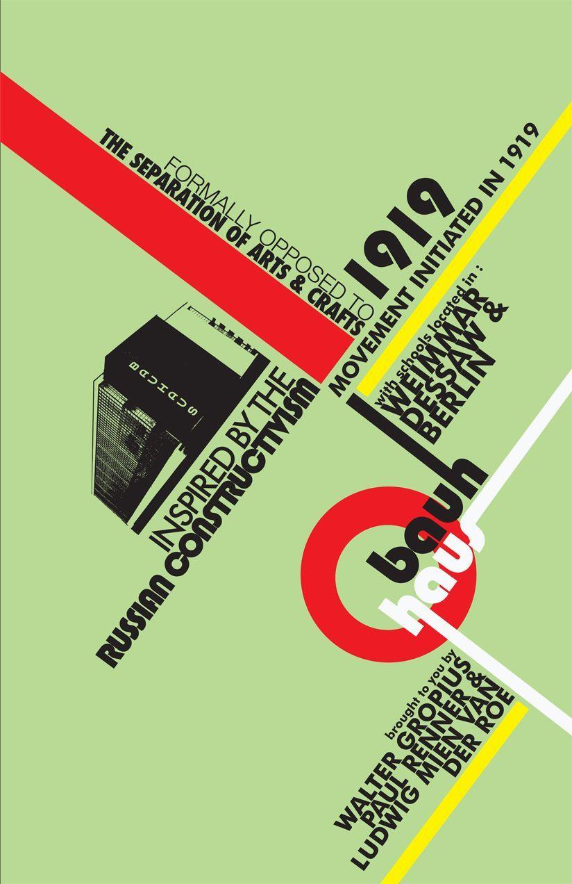 Vysledek Obrazku Pro Bauhaus Typography With Images Bauhaus