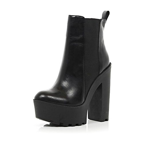 Womens Platform Boots - Cr Boot