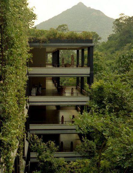6 Eco Friendly Diy Homes Built For 20k Or Less: Kandalama Hotel, Sri Lanka