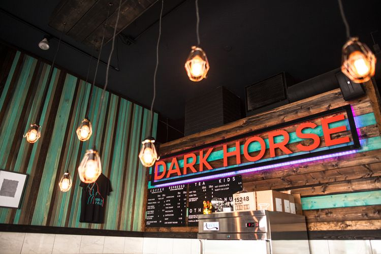 Dark horse coffee roasters carbonated cold brew on tap