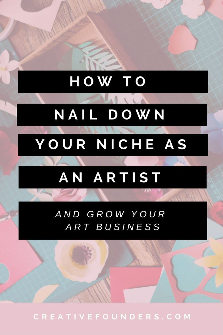 How to Choose Your Niche in Art images