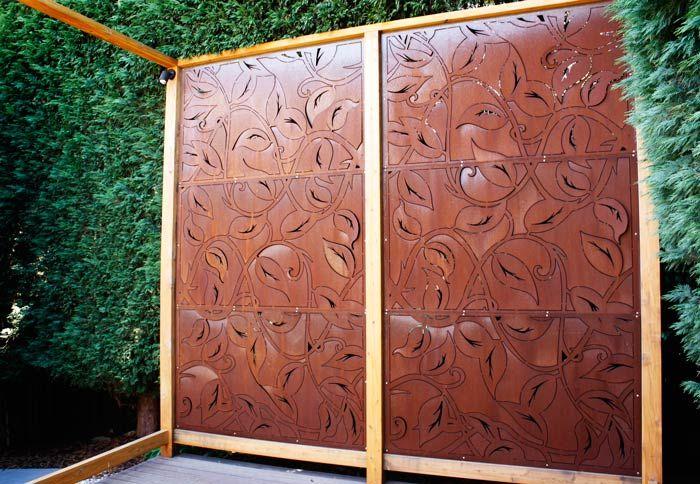 Great Decorative Metal Garden Screens Melbourne | Pierre Le Roux Design
