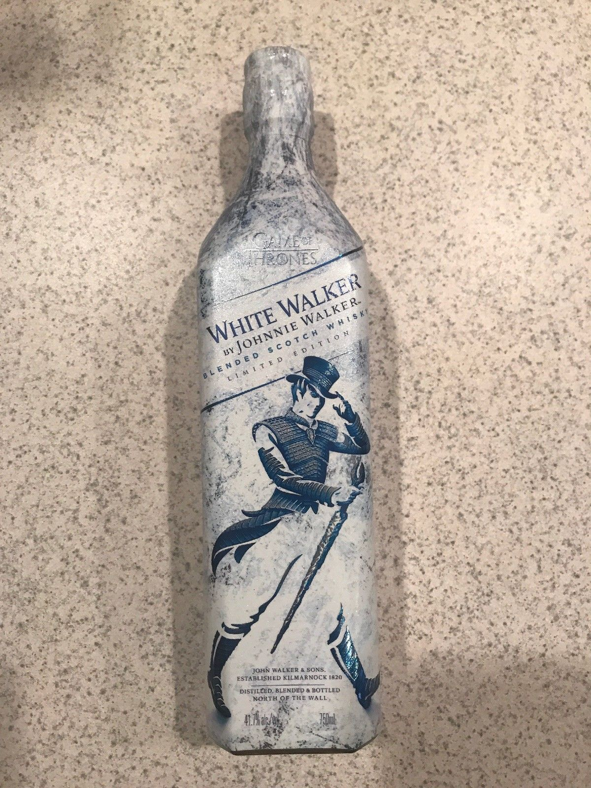 3a2189eb2ec WHITE WALKER BY JOHNNIE WALKER GOT GAME OF THRONES LIMITED EDITION HBO  UNOPENED
