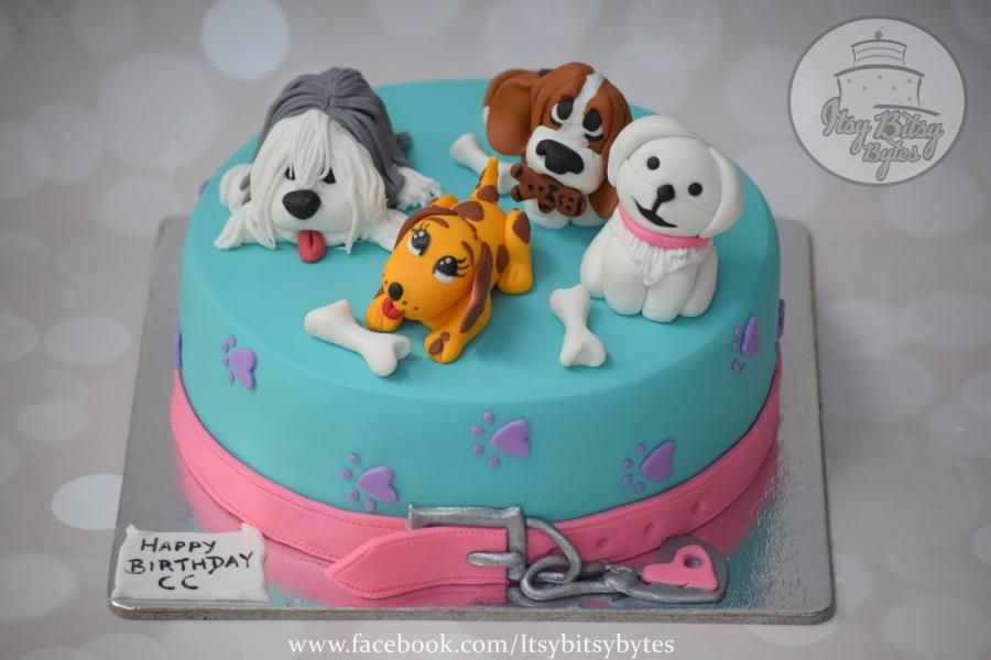 A Birthday Cake For A Dog Lover Cake By Divya Haldipur Dog