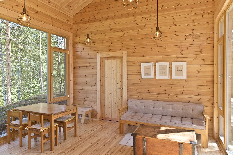 Gallery Of Cabin K Studio Kamppari 6 Lake Cabins Lakeside Cabin Luxury Interior