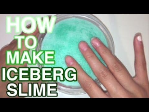 How to make iceberg slime diy easy giant fluffy slime youtube this is how u make iceberg slime activators hot water solution shaving cream starch recipe add glue to the bowl t ccuart Gallery
