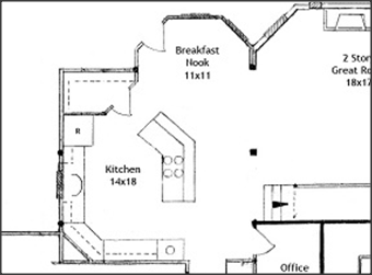 Top 5 Corner Pantry Floor Plans With Pictures Raleigh Custom Homes Kitchen Plans Pantry Layout Kitchen Floor Plans