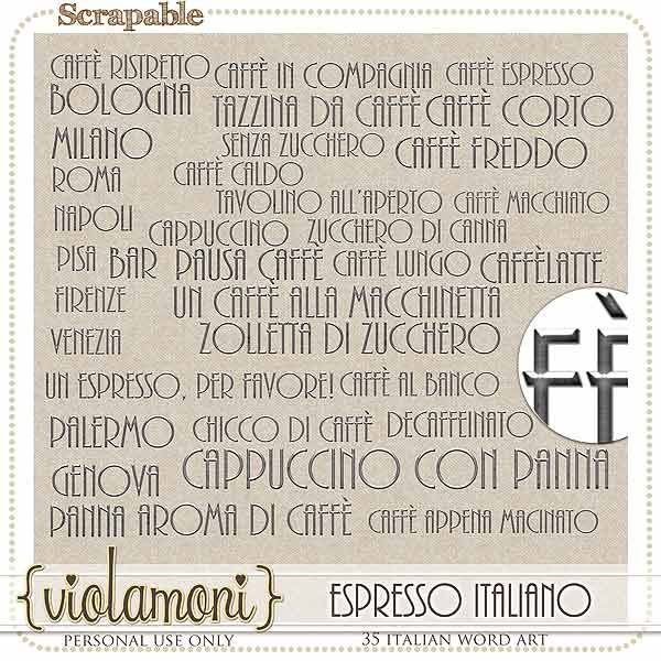 wordart italiano