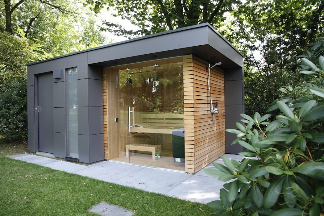 Gartenhauptdarsteller Garden Shed Homify Sauna House Sauna Design Garden Shower