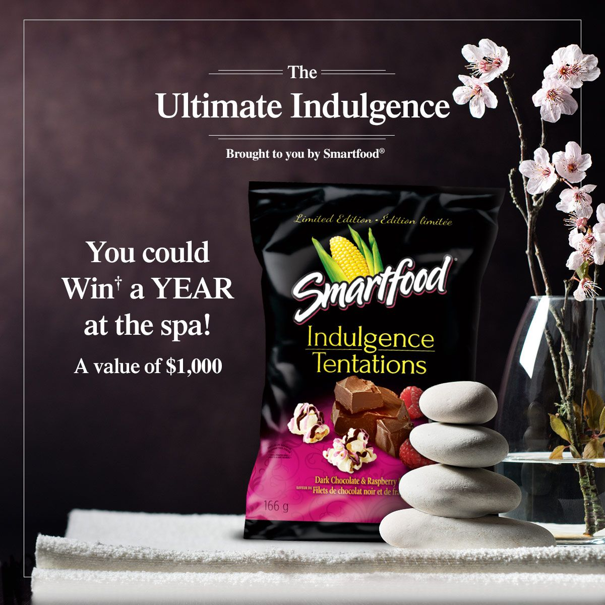 The Ultimate Indulgence Contest Enter Now! Spa gift